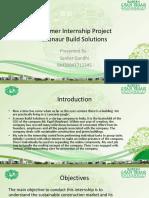 Summer Internship Project