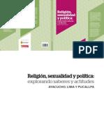 Religio Sexualidad y Politica