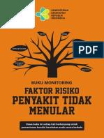 Layout Buku Monitoring Faktor Risiko Cetak