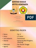 Presentasi Kasus Dermatitis Venenata