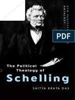The Political Theology of Schelling - Saitya Brata Das