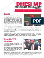 Slough MP Monthly Report June 2019