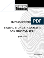 2017 Connecticut Racial Profiling Report