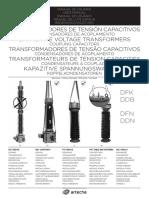 Manual de Transformador de Tensión Capacitivo
