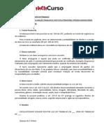 Reclamacao Trabalhista 2 - Prof. Paulo Ralin