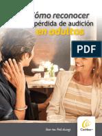 CheckList Como Reconocer Perdida Auditiva en Adultos