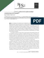 RESE a Cien a Os de La UNAM Crisis de La Unive 2014 Revista de La Educac