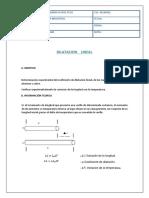 Dilatacion Lineal Lab
