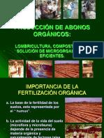 Elaboración de Abonos Orgánicos en forma liquida y solida