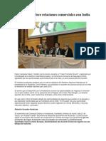 Ecuador Fortalece Relaciones Comerciales Con India y Honduras
