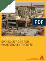 Watertight Concrete Construction Solutions Eng Brochure