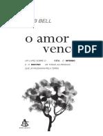 Livro o amor vence