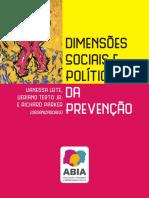 Publicacao Dimensoes Sociais e Politicas Da Prevencao
