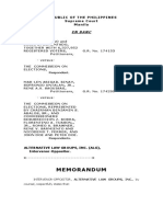 ALG Memorandum on People's Initiative