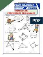 Propiedades Adicionales de Los Triangulos Para Segundo de Secundaria 1