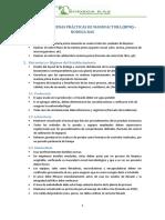 Manual de Buenas Pràcticas de Manufactura