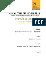 Facultad de Ingenieria - Gestion de Procesos T2