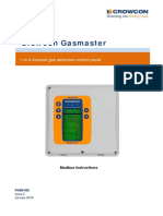 FGM3-002 Gasmaster III Modbus Instructions Issue 2 Jan 15