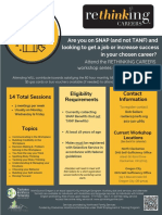 Jul-Sept 2019 Rethinking Careers Flyer - North Clackamas & OC