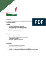 Analisis Foda y Matriz Efe