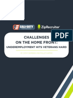 Challenges on the Home Front