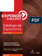 Catalogo Exponor2017