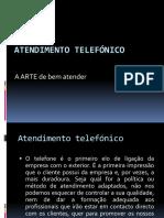Atendimento telefónico