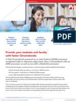 Provide your students and faculty with fasterChromebooks