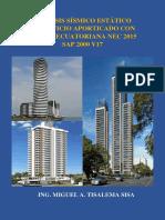 Sap2000 - Libro Analisis Sismico Estatico NEC 2015
