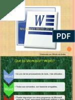 Aplicaciones de Word