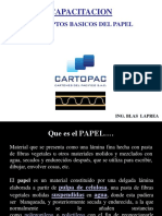 Presentacion -Conceptos Basicos Del Papel - CARTOPAC - Feb19