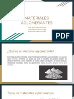 Materiales Aglomerantes