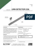 2000 Turn Detector Coil Manual EM 6713