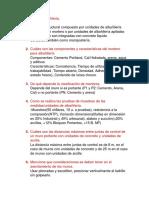 2019 - Albañileria Examen 1