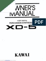 MANUAL XD 5
