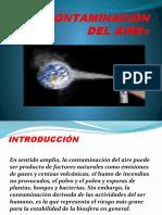 Contaminación Del Aire - Diapositivas