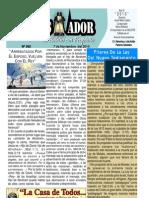 """2010-11-07 El Conquistador Boletín Semanal de """"La casa de Todos"""""""