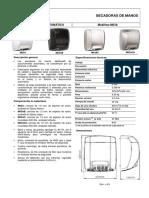 Secadoras de Manos Automaticas Mediflow M03ACS (2)