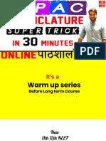 IUPAC Naming by Aravind Arora