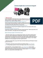 Tips Merawat Kamera Digital Dan Accessoris Fotografi