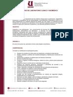 Auxiliares de Laboratorio Clínico y Biomédico