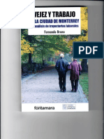 Vejez y Trabajo en La Cuidad de Monterrey. Un Análisis de Trayectorias Laborales