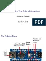 2018-Arduino NANO Basics