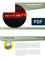 Purchase LED Flood Lights For Commercial LED Lighting