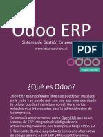 Que es Odoo ERP
