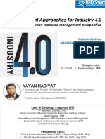 Management Approaches for Industry 4.0