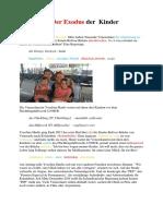Venezuela Gyermekek Kivándorlása