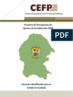 Coahuila 2018 Ramo 33