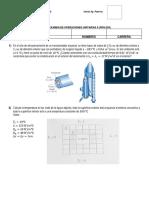 Examen Parcial de Operaciones Unitarias II (2017)