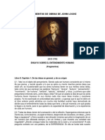 Fragmentos de Obras de John Locke